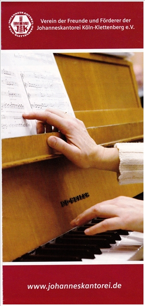 Titelseite Flyer Förderverein